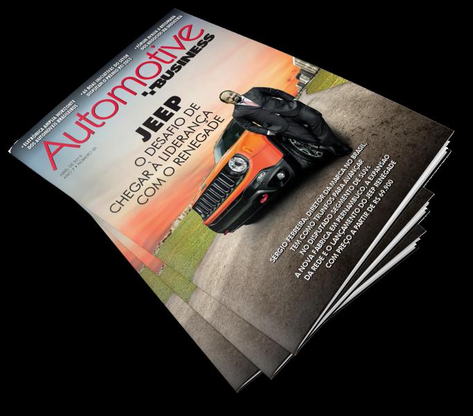 Foto da Capa da Revista Automotive com foto de Sérgio Ferreira